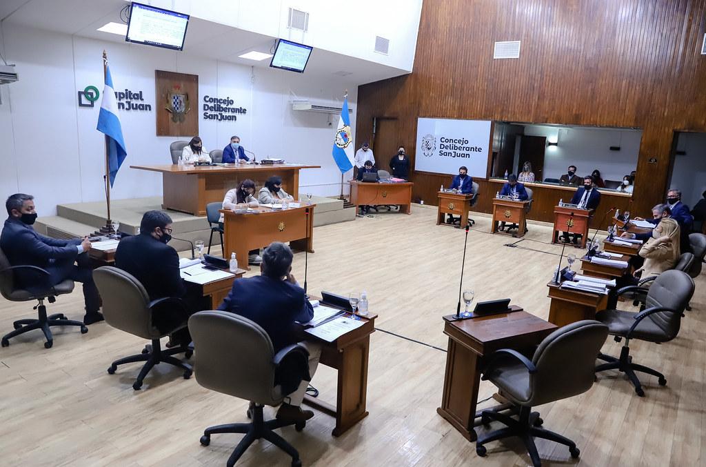 2020-10-15 Sesión Concejo Deliberante Capital