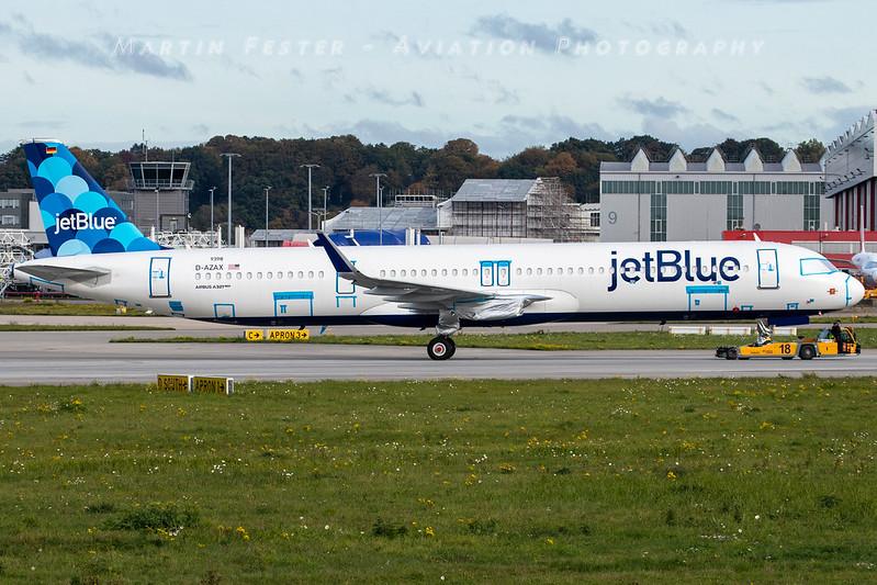 D-AZAX // JetBlue // A321-271NX/LR // MSN 9398 // N2060J