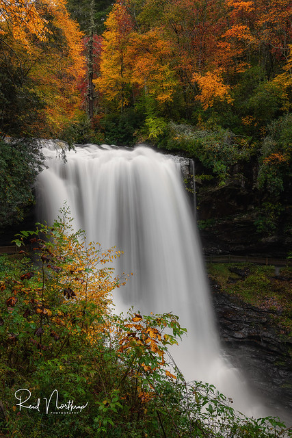 Colorful Dry Falls