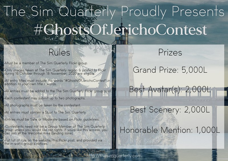#GhostsOfJerichoContest 10k Lindens in Prizes!
