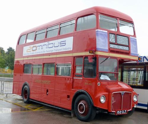 152 CLT 'London Transport' No. RM1152. AEC Routemaster / Park Royal on Dennis Basford's railsroadsrunways.blogspot.co.uk'