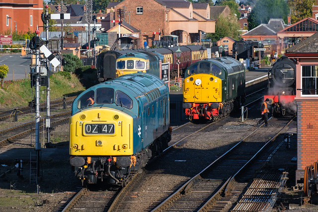 Shunting at Kidderminster