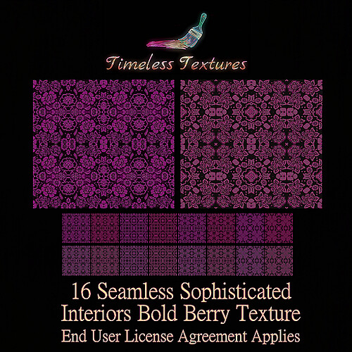 TT 16 Seamless Sophisticated Interiors Bold Berry Timeless Texture