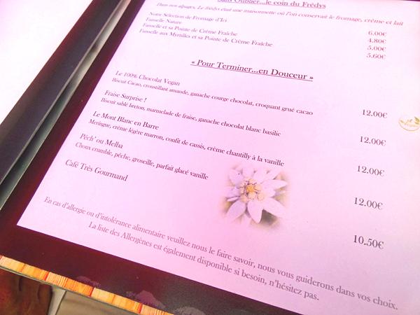desserts de chez Mireille
