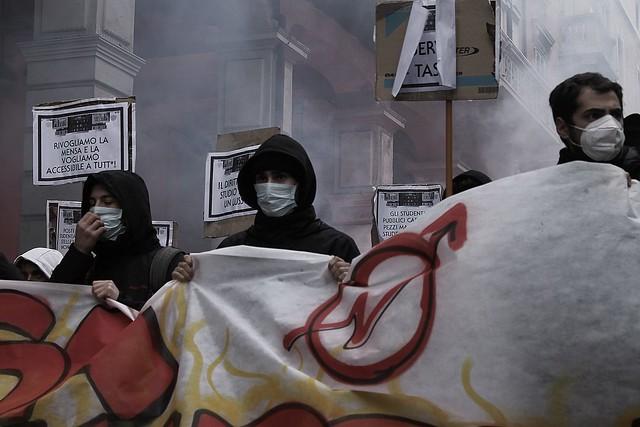 Manifestazione contro Student Hotel