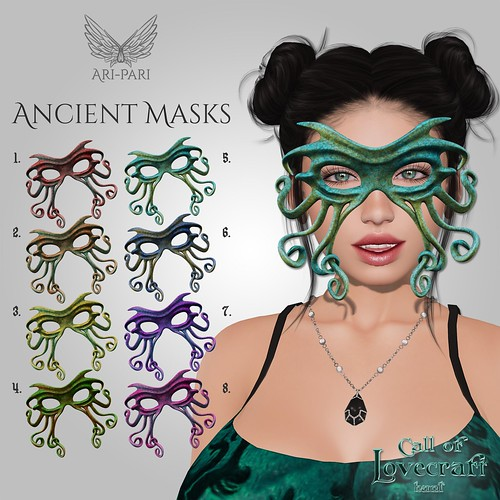 [Ari-Pari] Ancient Masks