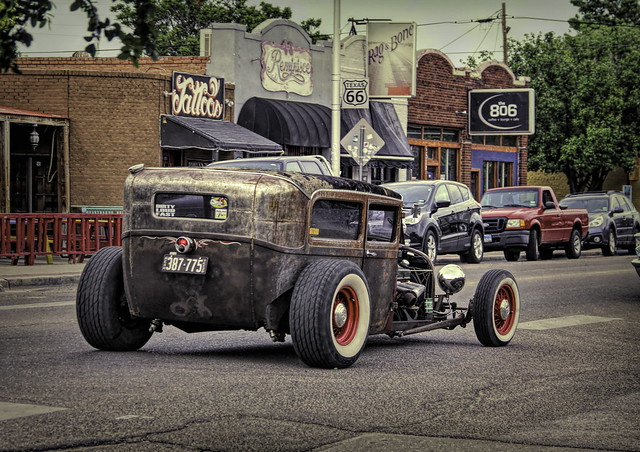 Rat Rod-one the Route 66