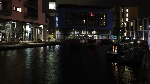 Union Canal at Night 05