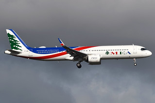 MEA MIDDLE EAST AIRLINES T7-ME1 A321-271NX EGLL 15/10/20