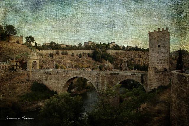 Puente de Alcántara-Toledo/Alcantara Bridge-Toledo