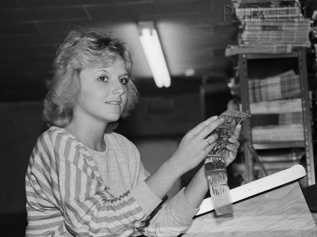 Debbie Gumb at the Sargent Leader
