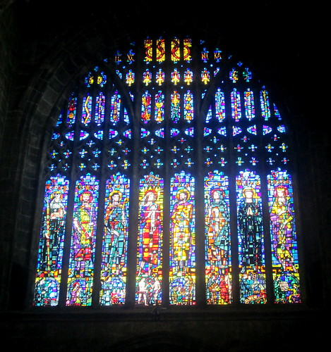 Stained Glass Windows, Chester Cathedral