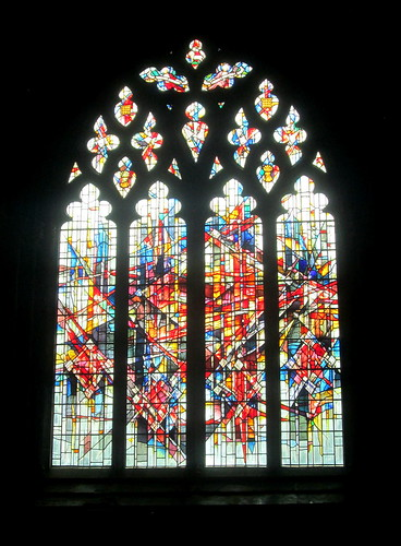 Chester Cathedral, Modern Stained Glass Windows