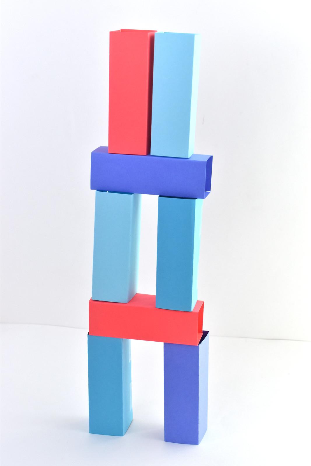 Make Simple Paper Blocks