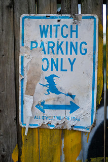 Witch Parking Only All Others Will Be Toad | by thoth1618