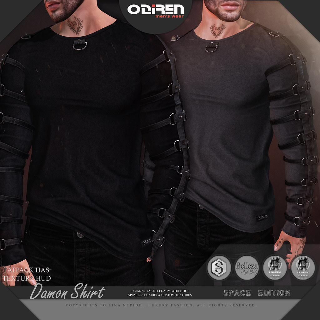 -ODIREN- Damon Shirt