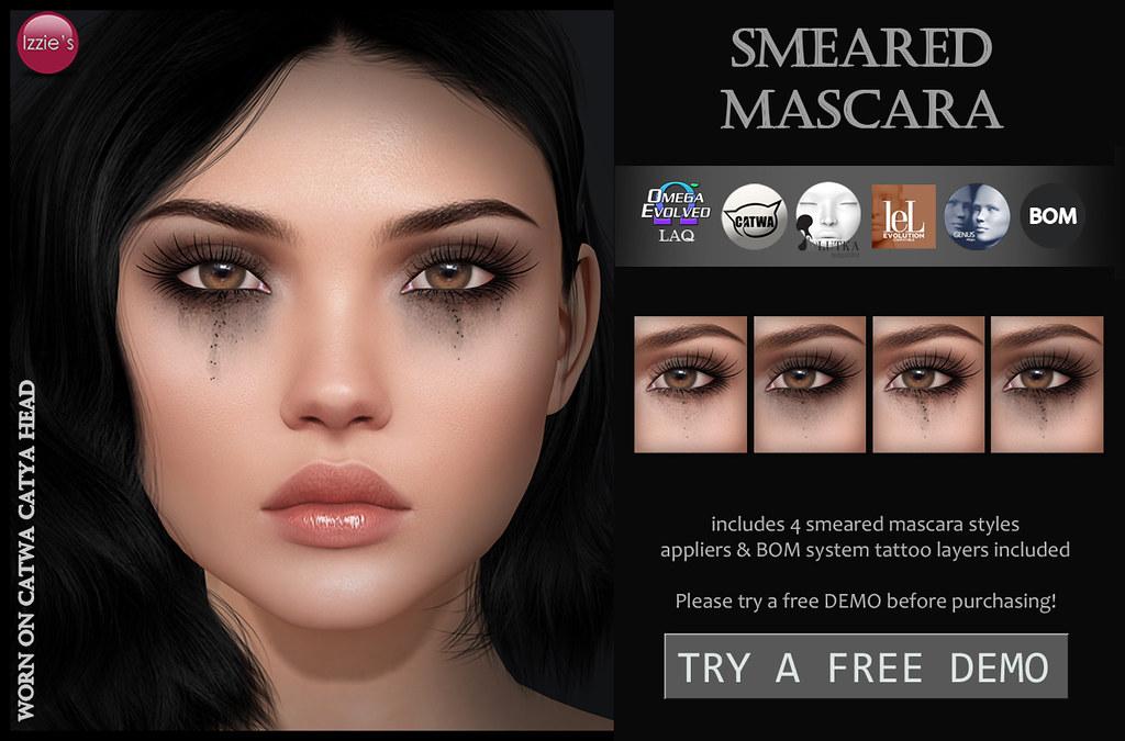 Smeared Mascara (for FLF)