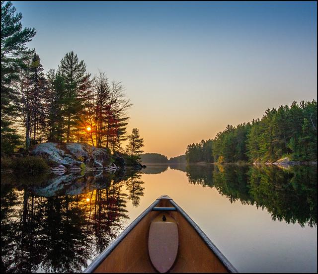 Sage Lake Sunrise Paddle