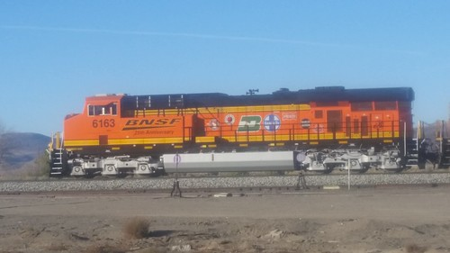 BNSF 6163 Anniversary Locomotive