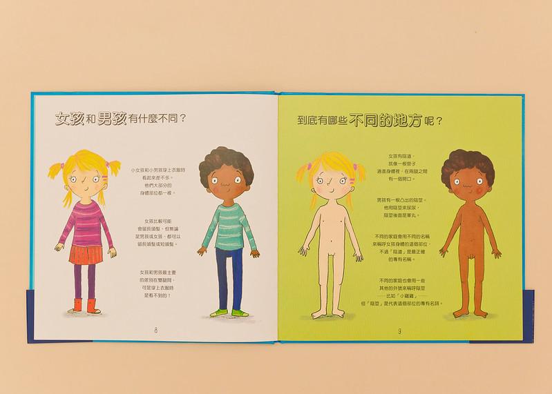 6我的小弟弟和妳的小妹妹(兒童性教育啟蒙認知繪本) (2)