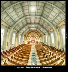 Planète de l'Église Ste-Geneviève de Batiscan