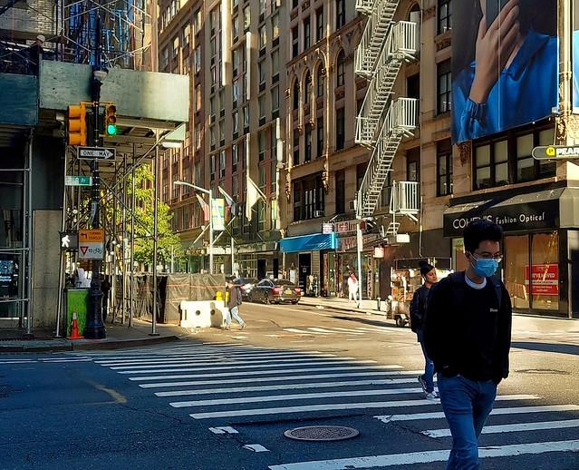 Masked in Manhattan