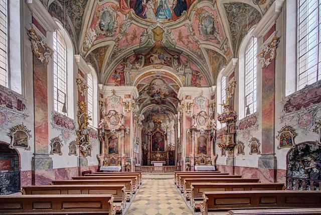 Landsberg, ehem. Klosterkirche der Dominikanerinnen, Hl. Dreifaltigkeit