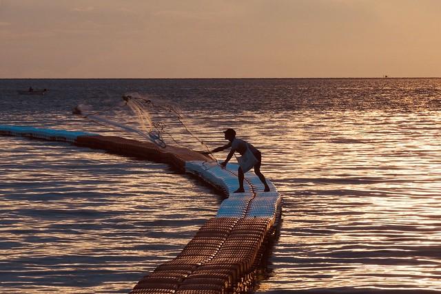 fisherman....(Pattaya beach)