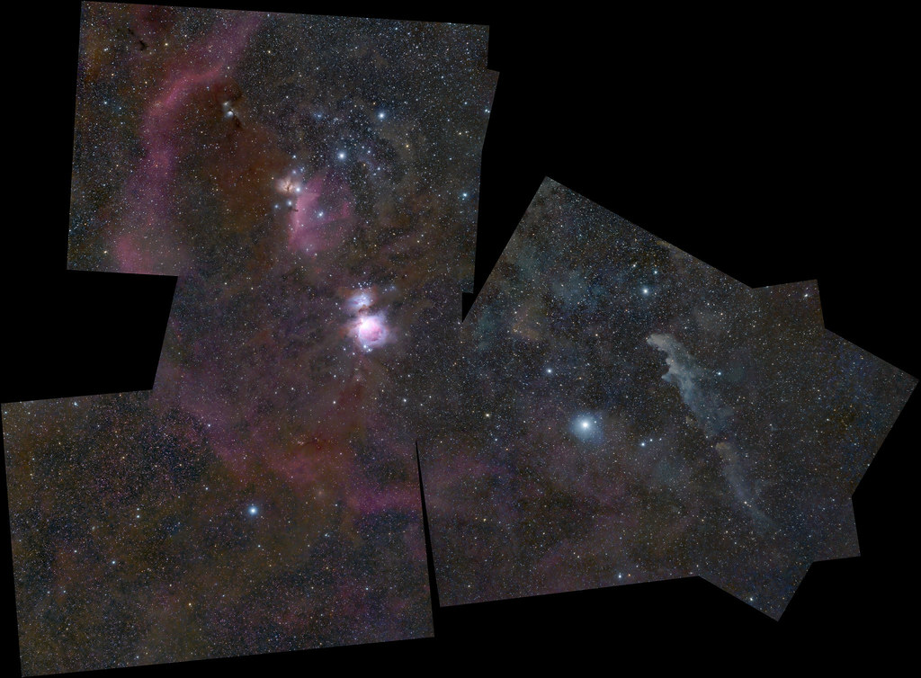 Winter astro project mosaic test