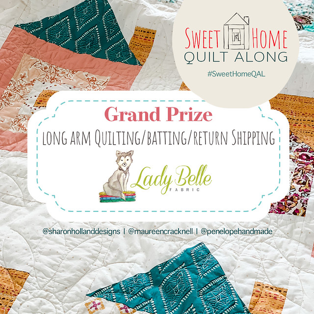 Lady Belle Long Arm Quilting GIVEAWAY