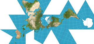Dymaxion Projection | by Dennis S. Hurd