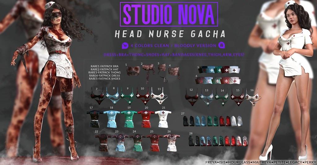 [StudioNova] Head Nurse Gacha ♥