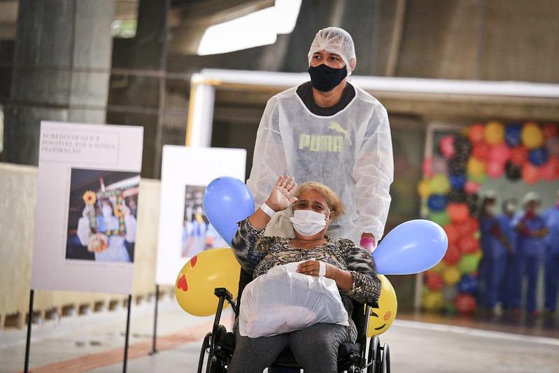Hospital de Campanha Mané Garrincha encerra atividades