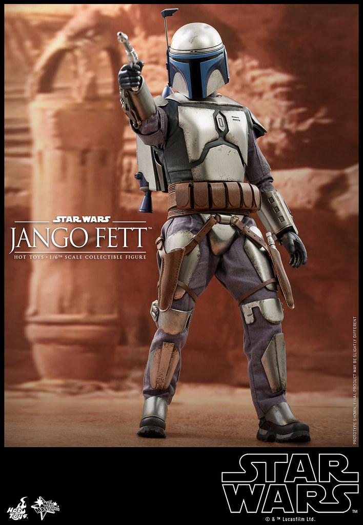 Hot Toys《複製人全面進攻》強格·費特 1/6比例人偶!傳說中的賞金獵人終於登場
