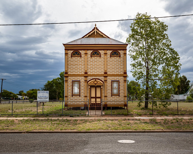 The Barcaldine Masonic Temple (Central West Queensland, Australia)