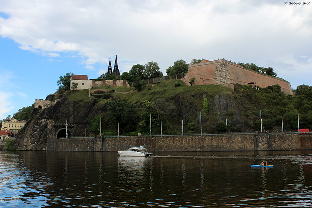 Prague : la forteresse de Vyšehrad