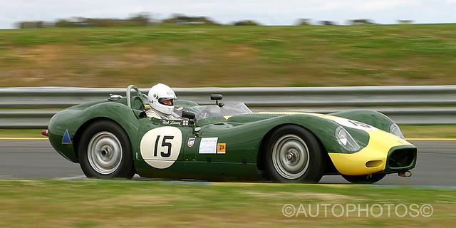 Nick Linney - Lister Jaguar - Historic Sandown 2003 - IMG_6374AA