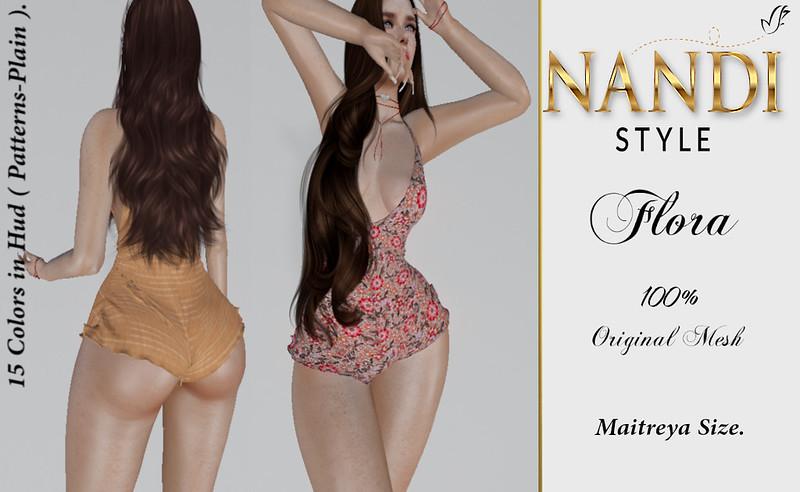 [Nandi Style]-Jumpsuit Flora-Picture