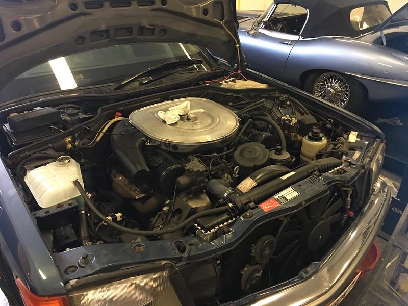 Installing a w126 radiator