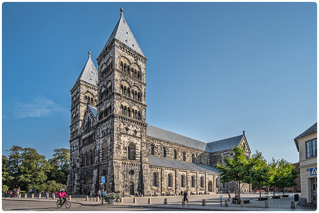 Sweden - Old Lund - The Cathedral