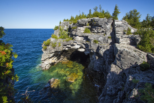 the Grotto, Bruce Peninsula, Ontario, Canada