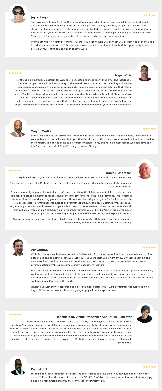 ProfitMeet-feedback