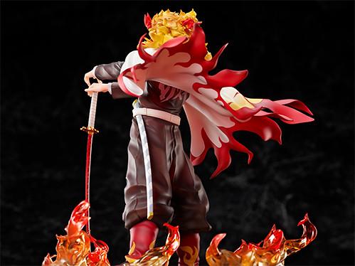 威風堂堂魄力姿態《鬼滅之刃》煉獄杏壽郎 1/8比例模型【ANIPLEX+限定】