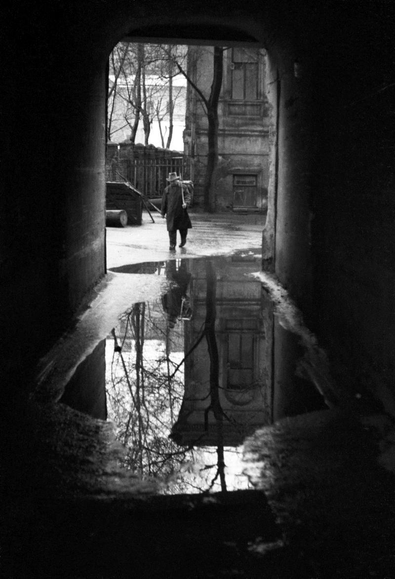 1963. Двор на Пятницкой