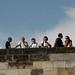 Prague : touristes dur le pont Charles