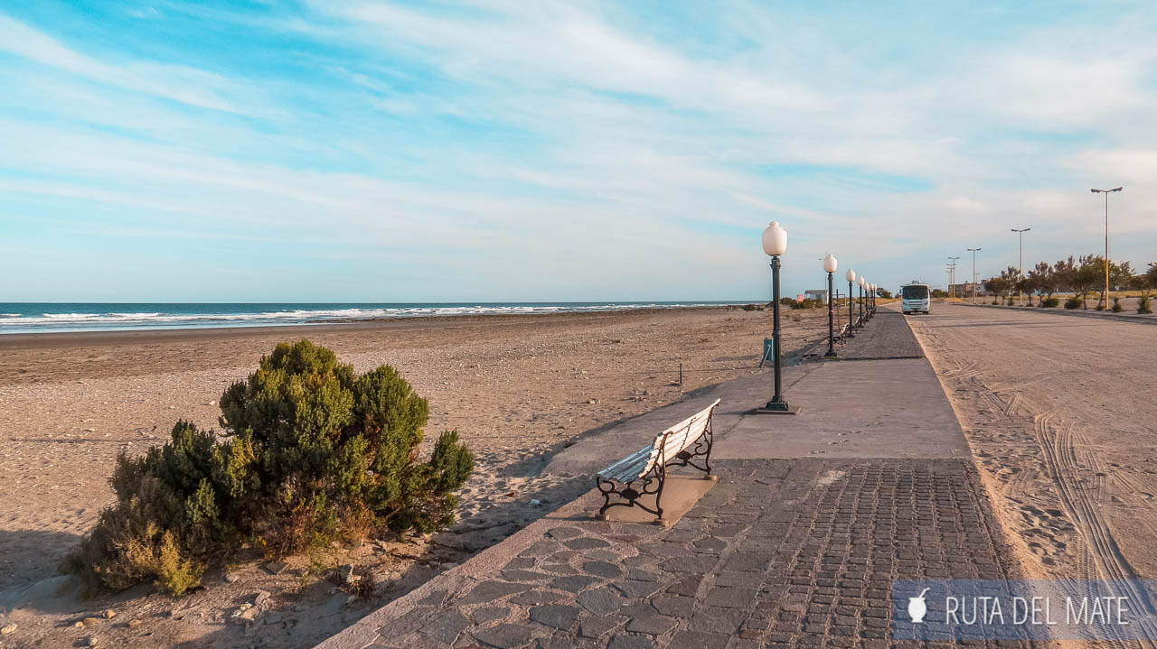 Playas Doradas, entre las mejores playas del sur de Argentina