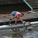 Champion tchèque d'aviron à l'entraînement