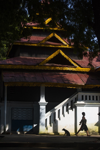 চিৎমরম বৌদ্ধ বিহার, কাপ্তাই,রাঙ্গামাটি - Chitmorom Pagoda