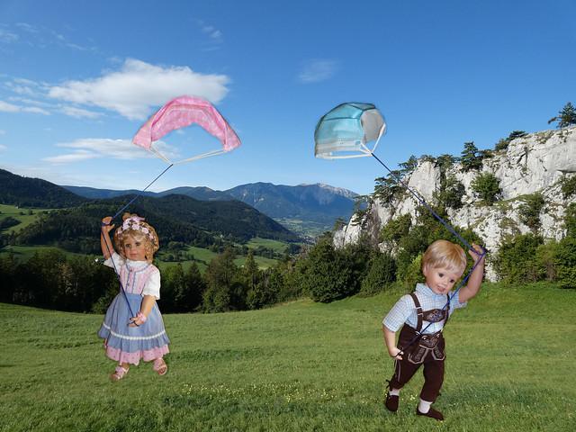 Zeit zum Drachensteigen !! ️💨 / Time to fly a kite !!️💨