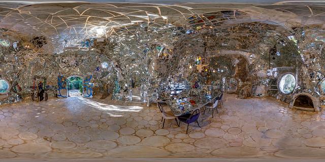 Giardino dei Tarocchi - Specchi